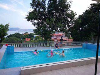 100mm 150mm debeli Luksuzni bazen akrilni plexi stakleni staklo za velike bazene