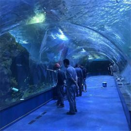 Akvarijski tunel oceanarium projekt u javnim akvarijima