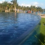 Custom akrilna ploča za bazen za plivanje