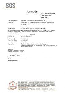 SGS ispitni certifikat EN