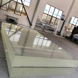 Prozirna bistra akrilna ploča od debele plastične stijenke