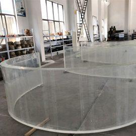 ogledalo akrilne zakrivljene plastične folije za akvarije akvarija